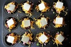 «Запеченный картофель с ветчиной и сыром» - приготовления блюда - шаг 14