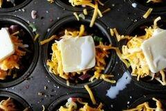 «Запеченный картофель с ветчиной и сыром» - приготовления блюда - шаг 16