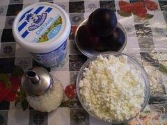 «Десерт творожный с фруктами» - приготовления блюда - шаг 1