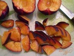 «Десерт творожный с фруктами» - приготовления блюда - шаг 3