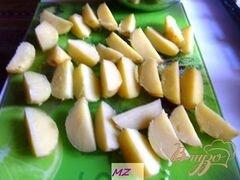 «Картофель по-деревенски» - приготовления блюда - шаг 3