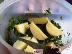 «Картофель по-деревенски» - приготовления блюда - шаг 5