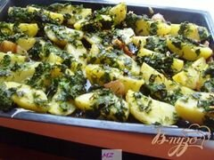 «Картофель по-деревенски» - приготовления блюда - шаг 6