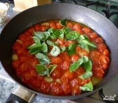 «Соус из помидоров черри» - приготовления блюда - шаг 3
