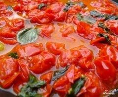 «Соус из помидоров черри» - приготовления блюда - шаг 4