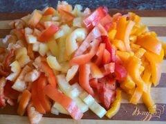 «Яичница с овощами» - приготовления блюда - шаг 1