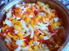 «Яичница с овощами» - приготовления блюда - шаг 3