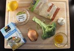 «Песто из брокколи с киноа» - приготовления блюда - шаг 1