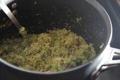 «Песто из брокколи с киноа» - приготовления блюда - шаг 10