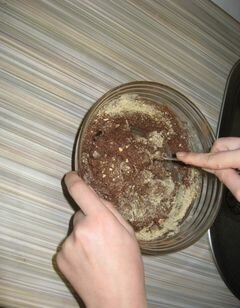 «Пирожное картошка» - приготовления блюда - шаг 5