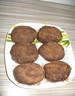 «Пирожное картошка» - приготовления блюда - шаг 9