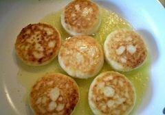 «Сырники без муки с ячменными пластивцами» - приготовления блюда - шаг 5