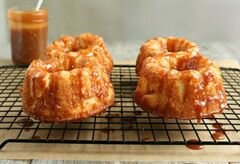 «Яблочные пироги с карамельным соусом» - приготовления блюда - шаг 8