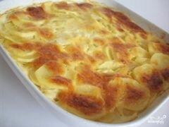 «Картофель под сыром» - приготовления блюда - шаг 8
