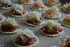 «Мини-пиццы (закусочные)» - приготовления блюда - шаг 5