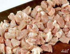 «Мясо с черносливом в мультиварке» - приготовления блюда - шаг 1