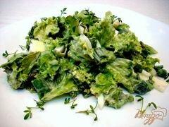 «Салат из листового салата» - приготовления блюда - шаг 6