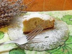 «Простая шарлотка с грецкими орехами» - приготовления блюда - шаг 8