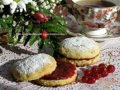 «Лимонные сконы с малиново-мятным желе» - приготовления блюда - шаг 9