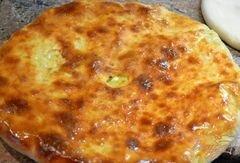 «Осетинские пироги «Картофджын» – пирог с картошкой» - приготовления блюда - шаг 4