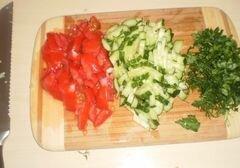 «Домашняя шаурма со свининой и молодой капустой» - приготовления блюда - шаг 2
