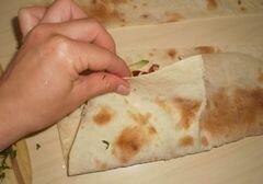 «Домашняя шаурма со свининой и молодой капустой» - приготовления блюда - шаг 9