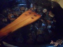 """«""""Ленивое"""" жаркое с лесными грибами» - приготовления блюда - шаг 1"""
