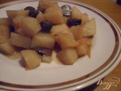 """«""""Ленивое"""" жаркое с лесными грибами» - приготовления блюда - шаг 5"""
