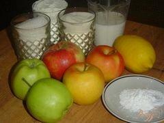 «Яблочный пирог болгарский» - приготовления блюда - шаг 1