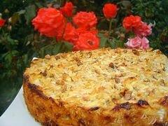 «Яблочный пирог болгарский» - приготовления блюда - шаг 9