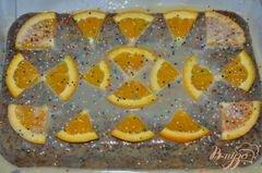 «Cметанный кекс с маком и белым цитрусовым ганашем» - приготовления блюда - шаг 5