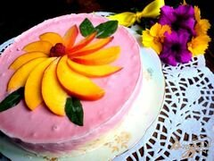 «Торт–мороженое с меренгой и фруктами» - приготовления блюда - шаг 12