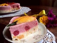 «Торт–мороженое с меренгой и фруктами» - приготовления блюда - шаг 13