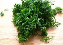 «Крабовый салат с фасолью» - приготовления блюда - шаг 5