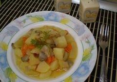 «Картофель с грибами» - приготовления блюда - шаг 9