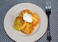 «Простые сырники» - приготовления блюда - шаг 6