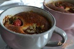 «Творожная запеканка с клубникой» - приготовления блюда - шаг 6