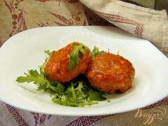 «Тефтели с гречкой и варёным яйцом в томатном соусе.» - приготовления блюда - шаг 6