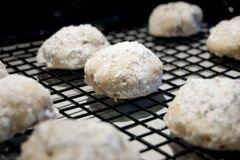 «Мексиканское свадебное печенье» - приготовления блюда - шаг 8