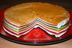 «торт «Радуга»» - приготовления блюда - шаг 6