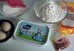 «Печенье в кокосовой панировке» - приготовления блюда - шаг 1