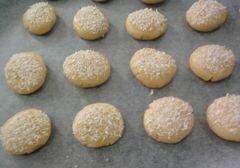 «Печенье в кокосовой панировке» - приготовления блюда - шаг 6