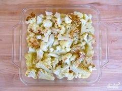 «Гратен из цветной капусты» - приготовления блюда - шаг 5