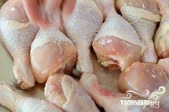«Запеченные куриные ножки» - приготовления блюда - шаг 6