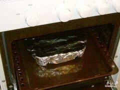 «Палтус в фольге» - приготовления блюда - шаг 4