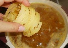 «Сырный суп с грибами» - приготовления блюда - шаг 4