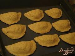 «Закрытые хачапури» - приготовления блюда - шаг 4
