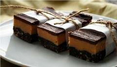 «Шоколадно-арахисовые пирожные» - приготовления блюда - шаг 14