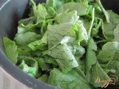 «Холодный суп из цукини с ботвой редиса» - приготовления блюда - шаг 2