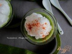 «Холодный суп из цукини с ботвой редиса» - приготовления блюда - шаг 6